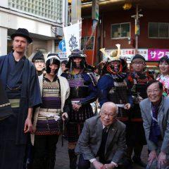 2月のイベント「商店街がおもてなし、日本文化体験ツアー」